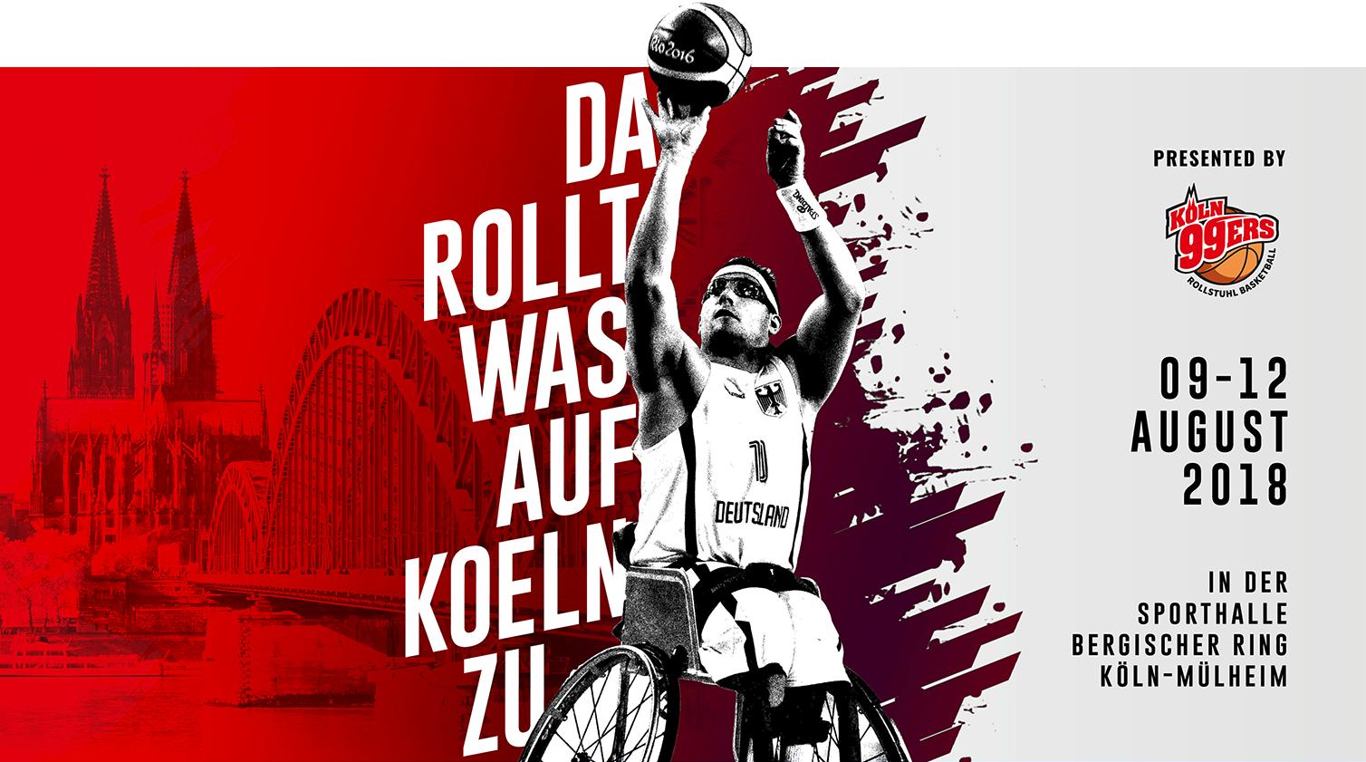 Da rollt was auf Köln zu... 9.-12. August 2018